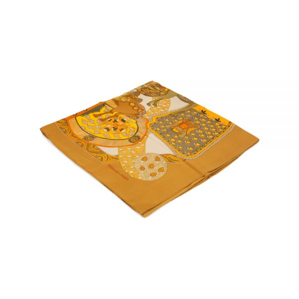 Art des Steppes Silk Scarf by Hermès - Le Dressing Monaco