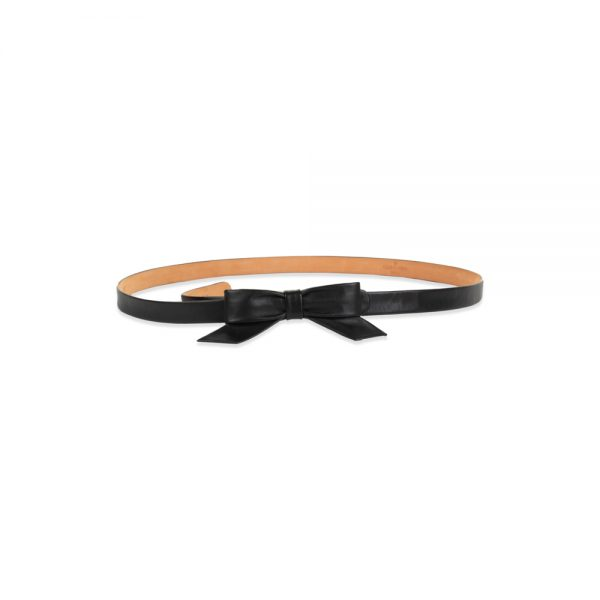Thin Leather Belt With A Bow by Louis Vuitton - Le Dressing Monaco