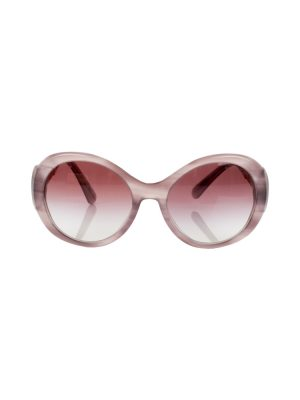 Purple Sunglasses with Gold Ornaments by Chanel - Le Dressing Monaco