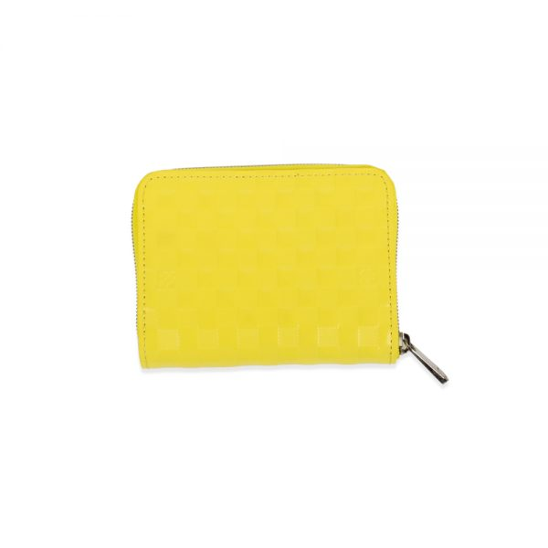 Yellow Zippy Damier Wallet by Louis Vuitton - Le Dressing Monaco