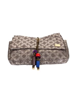 Embroidered Monogram Pochette by Louis Vuitton - Le Dressing Monaco