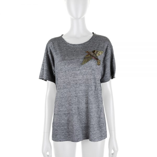 Embroidered Bird T-Shirt by Gucci - Le Dressing Monaco