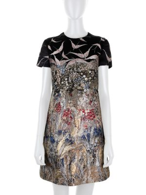 Asian Scenery Embroidered Mini Dress by Valentino - Le Dressing Monaco