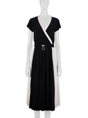Lycra Black And White Sporty Dress by Valentino - Le Dressing Monaco