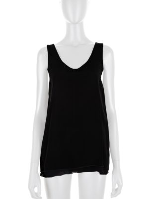 Black Sleeveless Top by Chloé - Le Dressing Monaco
