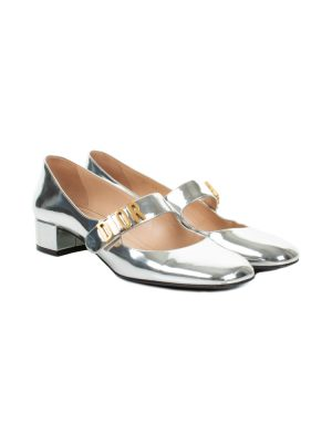 Silver Baby-D Mirror Ballet Pump by Christian Dior - Le Dressing Monaco