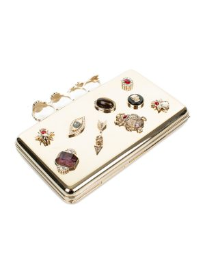 Brass Knuckle Case by Alexander McQueen - Le Dressing Monaco