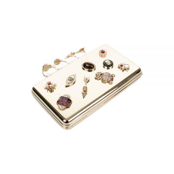 Brass Knuckle Case by Alexander McQueen - Le Dressing Monaco