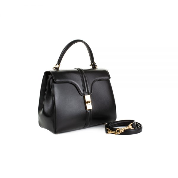 Small Black 16 Handbag by Céline - Le Dressing Monaco