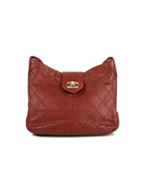 Red Vintage Shoulder Handbag by Chanel - Le Dressing Monaco