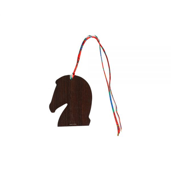 Wood Horse Head Bag Charm by Hermès - Le Dressing Monaco