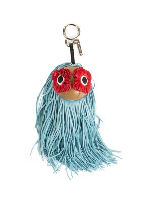 Leather Poppy Eyes Monster Bag Charm by Fendi - Le Dressing Monaco
