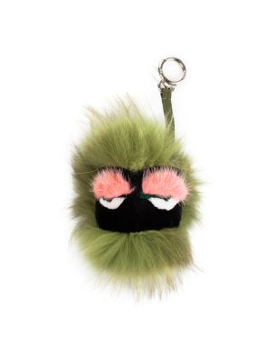 Green Blitzen Monster Bag Charm by Fendi - Le Dressing Monaco