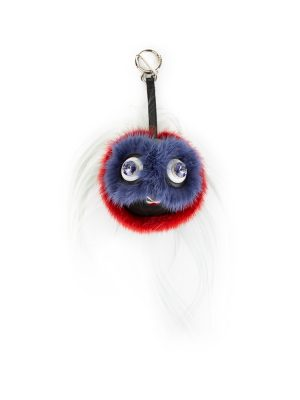 Bird Mohawk Monster Bag Charm by Fendi - Le Dressing Monaco