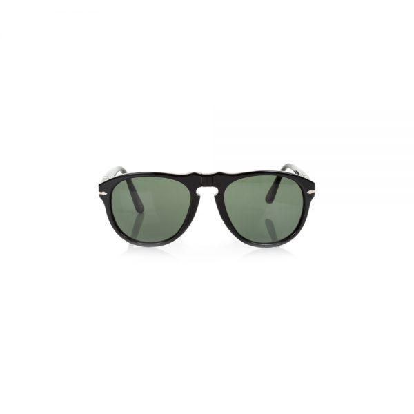 Black Plain Plastic Sunglasses by Persol - Le Dressing Monaco