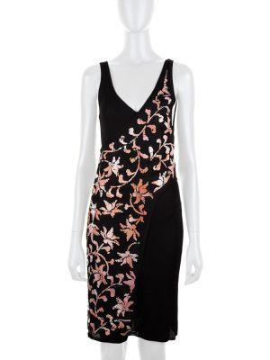 Pink Asymmetric Two Piece Flower Dress by Chanel - Le Dressing Monaco
