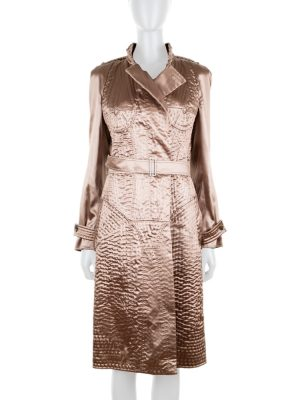 Naked Body Effect Trench Coat by Yves Saint Laurent - Le Dressing Monaco