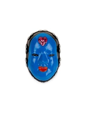 Blue No Mask Ring by Gucci - Le Dressing Monaco