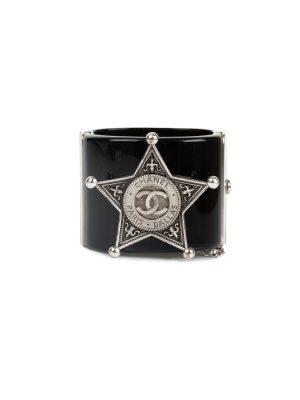 964c416f89d3 Black Plexi Manchette Paris Dallas by Chanel - Le Dressing Monaco