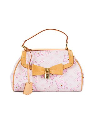 Cherry Blossom Murakami Pink Handbag by Louis Vuitton - Le Dressing Monaco