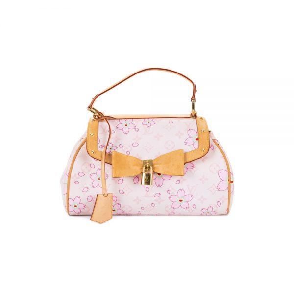 Cherry Blossom Murakami Pink Handbag by Louis Vuitton - Le Dressing Monaco