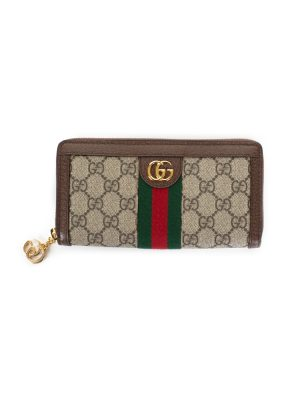 GG Canvas Zipped Wallet by Gucci - Le Dressing Monaco