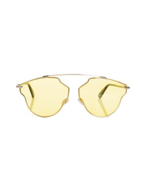 Yellow So Real Pop Sunglasses by Christian Dior - Le Dressing Monaco