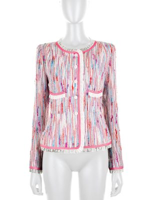 Pink Tweed Jacket by Chanel - Le Dressing Monaco