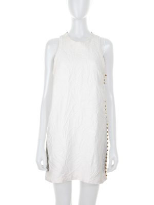 Sleeveless Dress With Gold Buttons by Gucci - Le Dressing Monaco