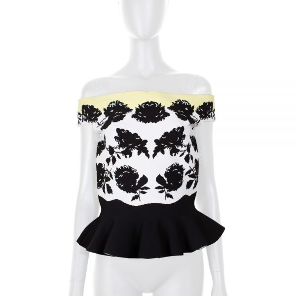 Floral Knitted Top by Alexander McQueen - Le Dressing Monaco