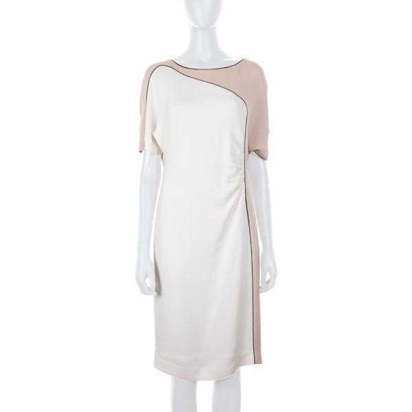 Short Sleeved Bicolor Dress by Escada - Le Dressing Monaco