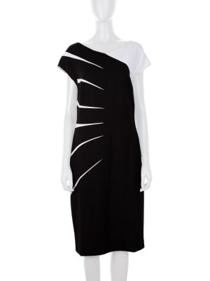 Black And White Dress by Escada - Le Dressing Monaco