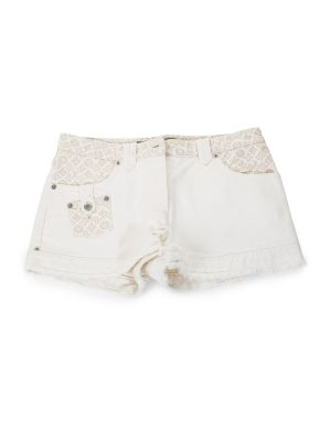 Jeans Shorts With LV Print by Louis Vuitton - Le Dressing Monaco