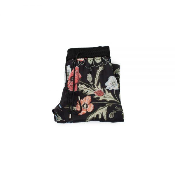 Silk Nature Print Jogging Pants by Gucci - Le Dressing Monaco