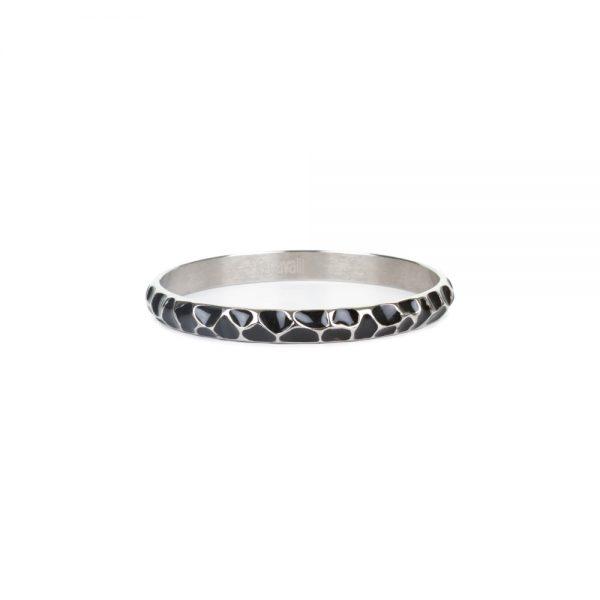 Black Enameled Bracelet by Just Cavalli - Le Dressing Monaco