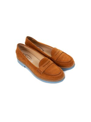 Suede Mocassins With Blue Sole by Tod's - Le Dressing Monaco
