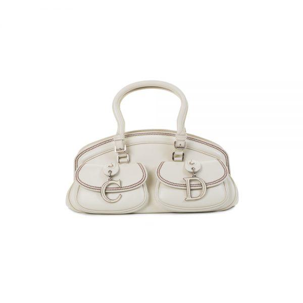 Detective Off-White Handbag by Christian Dior - Le Dressing Monaco