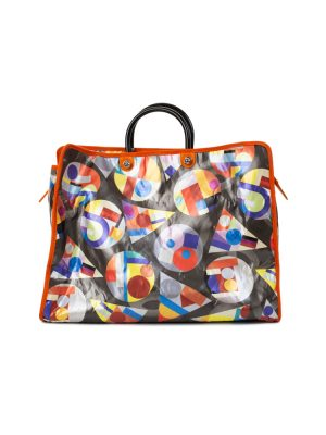 Big Multicolor Nylon Shopper by Chanel - Le Dressing Monaco