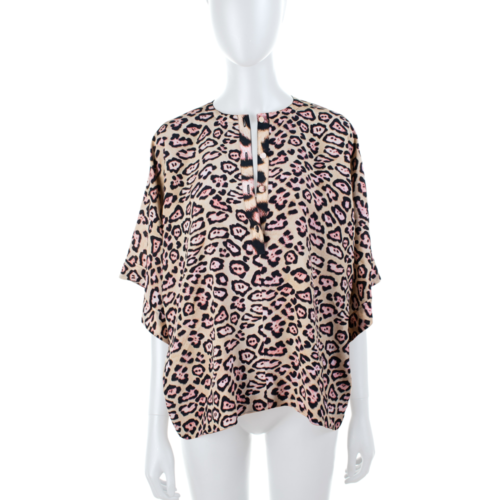 de4b2a04fbe5b Silk Leopard Shirt by Givenchy - Le Dressing Monaco