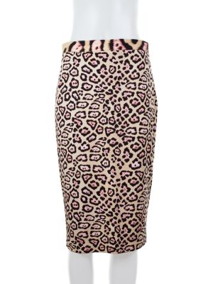 Leopard Pencil Skirt by Givenchy - Le Dressing Monaco