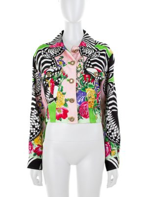 Baroque Light Multicolor Jacket by Versus Gianni Versace - Le Dressing Monaco