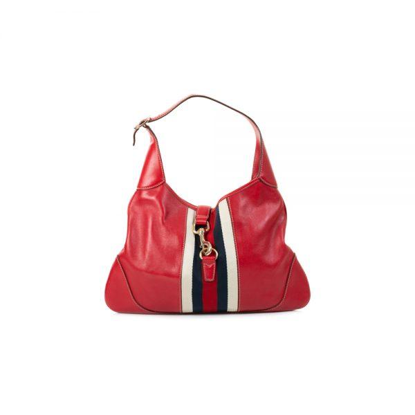 Vintage Leather Shoulder Bag by Gucci - Le Dressing Monaco
