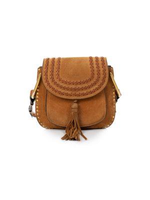 Hudson Suede Crossbody Handbag by Chloé - Le Dressing Monaco