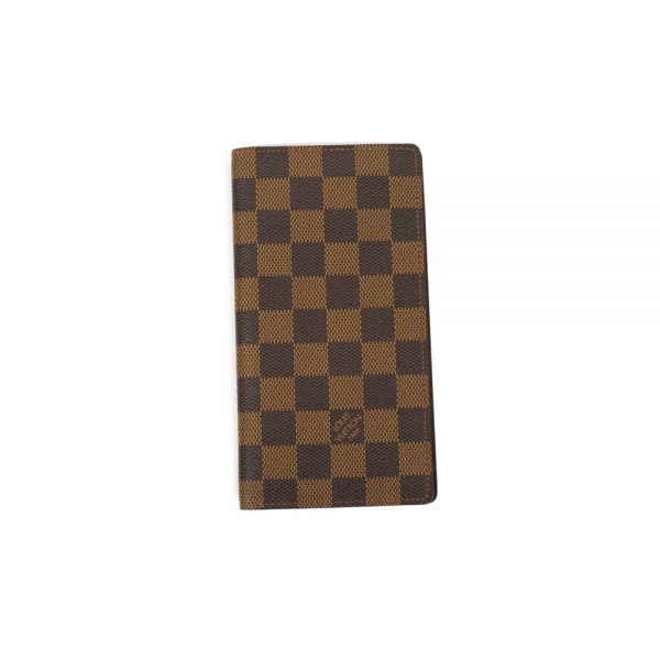 Long Wallet Damier Ebène by Louis Vuitton - Le Dressing Monaco