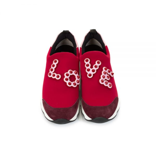 Fendi Chinese New Year Love Sneakers by Fendi - Le Dressing Monaco