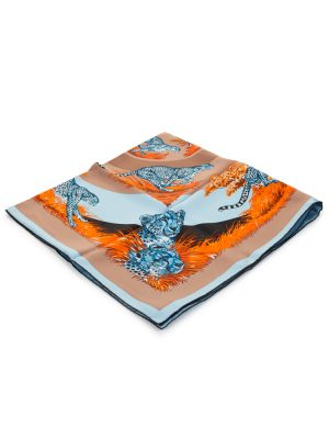 Guepards Silk Scarf by Hermès - Le Dressing Monaco