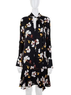 Flower Printed Silk Dress by Marni - Le Dressing Monaco