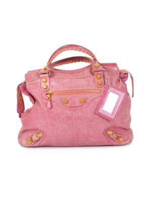 Pink Large City Shopper by Balenciaga - Le Dressing Monaco