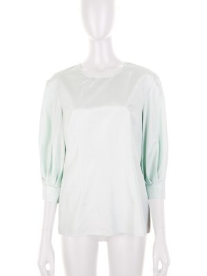 Pastel Green Silk Shirt by Deitas - Le Dressing Monaco