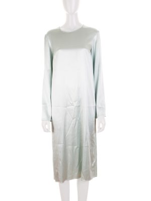 Satin Long Sleeved Dress by Deitas - Le Dressing Monaco